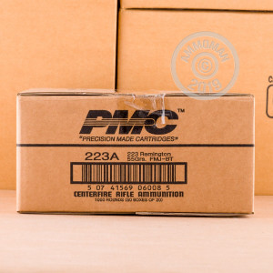223 REMINGTON PMC BRONZE 55 GRAIN FMJ (1000 ROUNDS)