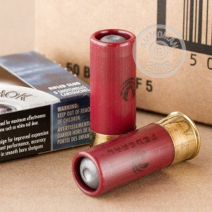 Rifled Slug shotgun rounds for sale at AmmoMan.com - 250 rounds.