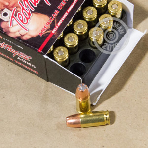 Photo of 9mm Luger JHP ammo by Ted Nugent Ammo for sale at AmmoMan.com.