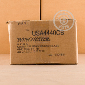 Photograph showing detail of 44-40 WINCHESTER COWBOY LOADS 225 GRAIN LFN (50 ROUNDS)