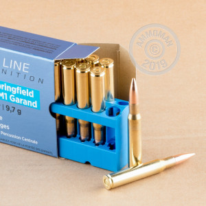 Image of Prvi Partizan 30.06 Springfield rifle ammunition.