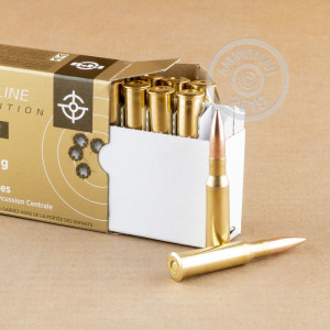 An image of 7.62 x 54R ammo made by Prvi Partizan at AmmoMan.com.