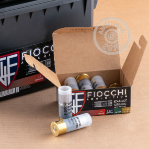 Image of brand new Fiocchi 12 Gauge ammo for sale at AmmoMan.com.