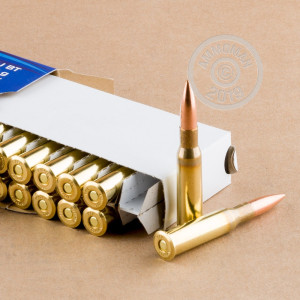 A photo of a box of Prvi Partizan ammo in 7.62 x 54R.