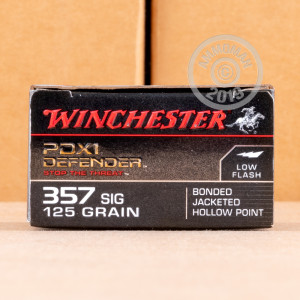 Photo of 357 SIG JHP ammo by Winchester for sale at AmmoMan.com.