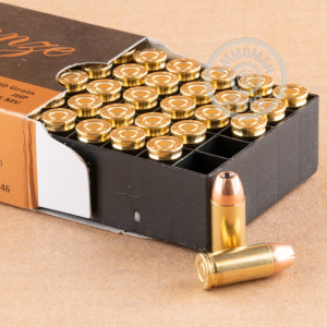 Image of .32 ACP ammo by PMC that's ideal for home protection.
