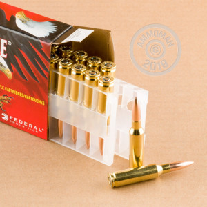 Image of 6.5MM CREEDMOOR FEDERAL AMERICAN EAGLE 120 GRAIN OTM (20 ROUNDS)