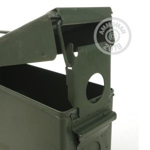 Image of the 30 CAL MIL-SPEC AMMO CAN BRAND NEW GREEN M19 (1 CAN) available at AmmoMan.com.