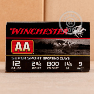 Great ammo for shooting clays, these Winchester rounds are for sale now at AmmoMan.com.