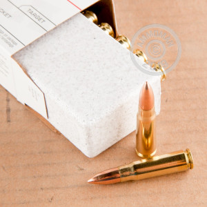 Image of 7.62 x 39 ammo by Winchester that's ideal for training at the range.