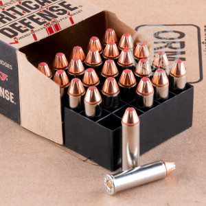 A photo of a box of Hornady ammo in 357 Magnum.