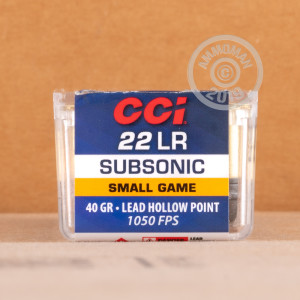 .22 Long Rifle ammo for sale at AmmoMan.com - 1000 rounds.
