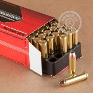 Image of Black Hills Ammunition 357 Magnum pistol ammunition.