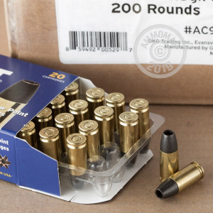 Image of Colt 9mm Luger pistol ammunition.