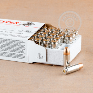 Image of 38 Super ammo by Winchester that's ideal for training at the range.