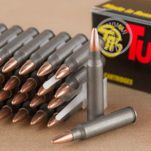 Photograph showing detail of 223 REMINGTON TULA 62 GRAIN FMJ (40 ROUNDS)
