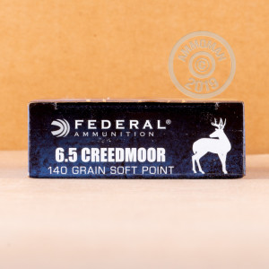 Image of the 6.5 CREEDMOOR FEDERAL POWER-SHOK 140 GRAIN JSP (20 ROUNDS) available at AmmoMan.com.