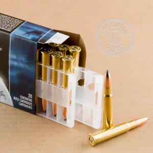 Photo of 303 British Jacketed Soft-Point (JSP) ammo by Federal for sale.
