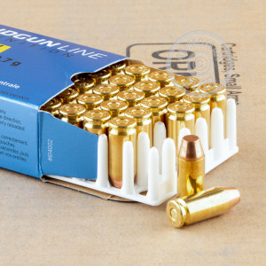 Image of .40 Smith & Wesson ammo by Prvi Partizan that's ideal for training at the range.