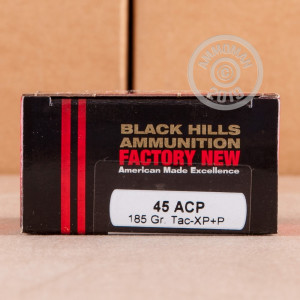Image of Black Hills Ammunition .45 Automatic pistol ammunition.