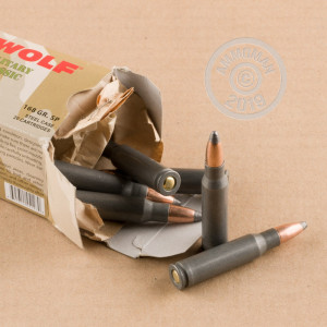 308 WIN WOLF MILITARY CLASSIC 168 GRAIN SP (500 ROUNDS)