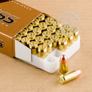 An image of .45 Automatic ammo made by Blazer Brass at AmmoMan.com.