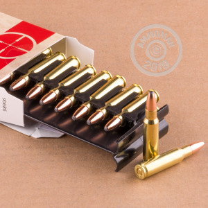 An image of 6.8 SPC ammo made by Silver State Armory at AmmoMan.com.