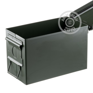 Photo detailing the NEW 50 CALIBER MIL-SPEC AMMO CAN (1 CAN) for sale at AmmoMan.com.
