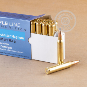 Photo of 300 Winchester Magnum soft point ammo by Prvi Partizan for sale.