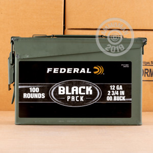 00 BUCK shotgun rounds for sale at AmmoMan.com - 100 rounds.