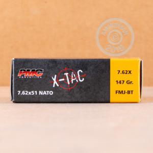 Photo of 308 / 7.62x51 FMJ-BT ammo by PMC for sale.