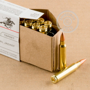Image of 223 Remington ammo by Winchester that's ideal for training at the range.