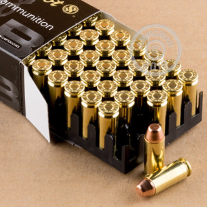 Photo of 10mm FMJ ammo by Sellier & Bellot for sale at AmmoMan.com.