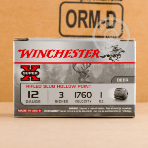Image of 12 Gauge shotgun ammo made by Winchester.