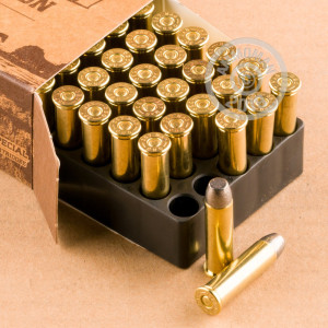 Photo of 357 Magnum Lead Flat Nose ammo by Magtech for sale at AmmoMan.com.