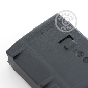 Photo detailing the AR-15 MAGAZINE - 5.56/.223 - 30 ROUND MAGPUL PMAG GEN M2 MOE WINDOW BLACK (1 MAGAZINE) for sale at AmmoMan.com.