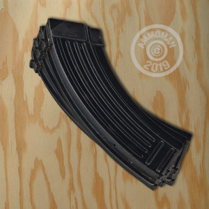 Image of the 7.62x39MM AK-47 MAGAZINES - YUGOSLAVIAN SURPLUS - 30 ROUND STEEL (3 MAGAZINES) available at AmmoMan.com.