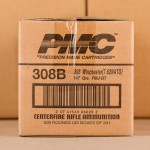 Image of the .308 PMC 147 GRAIN FULL METAL JACKET AMMO (500 ROUNDS) available at AmmoMan.com.