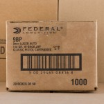 Image of the 9MM FEDERAL PERSONAL DEFENSE 115 GRAIN JHP (1000 ROUNDS) available at AmmoMan.com.