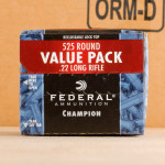 Photo detailing the 22 LR FEDERAL CHAMPION 36 GRAIN CPHP (5250 ROUNDS) for sale at AmmoMan.com.