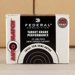 Photo detailing the 22 LR FEDERAL AUTOMATCH TARGET 40 GRAIN LRN (3250 ROUNDS) for sale at AmmoMan.com.