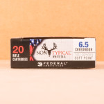 Image of the 6.5MM CREEDMOOR FEDERAL 140 GRAIN SP (200 ROUNDS) available at AmmoMan.com.