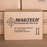 Image of the .40 S&W MAGTECH 180 GRAIN FMJ FLAT POINT  (1000 ROUNDS) available at AmmoMan.com.