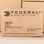 Photograph showing detail of 50 BMG Federal American Eagle 660 Grain FMJ #XM33C (100 ROUNDS)