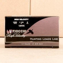 Great ammo for upland bird hunting, these Fiocchi rounds are for sale now at AmmoMan.com.