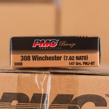 .308 PMC 147 GRAIN FULL METAL JACKET AMMO (500 ROUNDS)