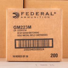 Image of 223 Remington rifle ammunition at AmmoMan.com.
