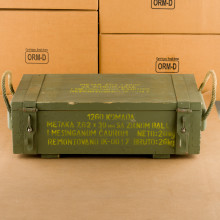 Image of 7.62 x 39 ammo by Military Surplus that's ideal for training at the range.