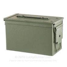Photograph showing detail of NEW 50 CALIBER MIL-SPEC AMMO CAN (1 CAN)