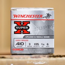 Photograph of Winchester 410 BUCKSHOT #6 shot for sale at AmmoMan.com